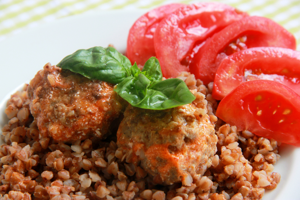 блюда с гречкой фото рецепты