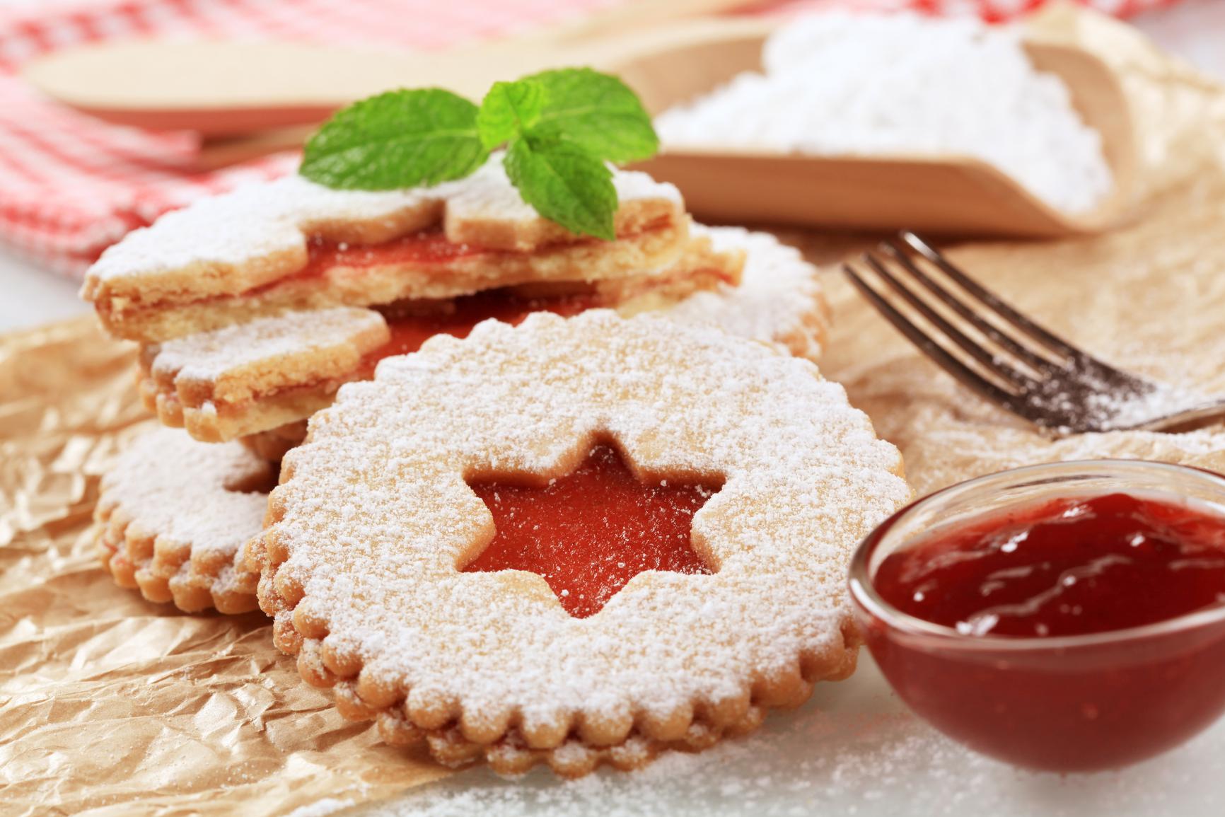 Рецепты печенья готовят дети 9