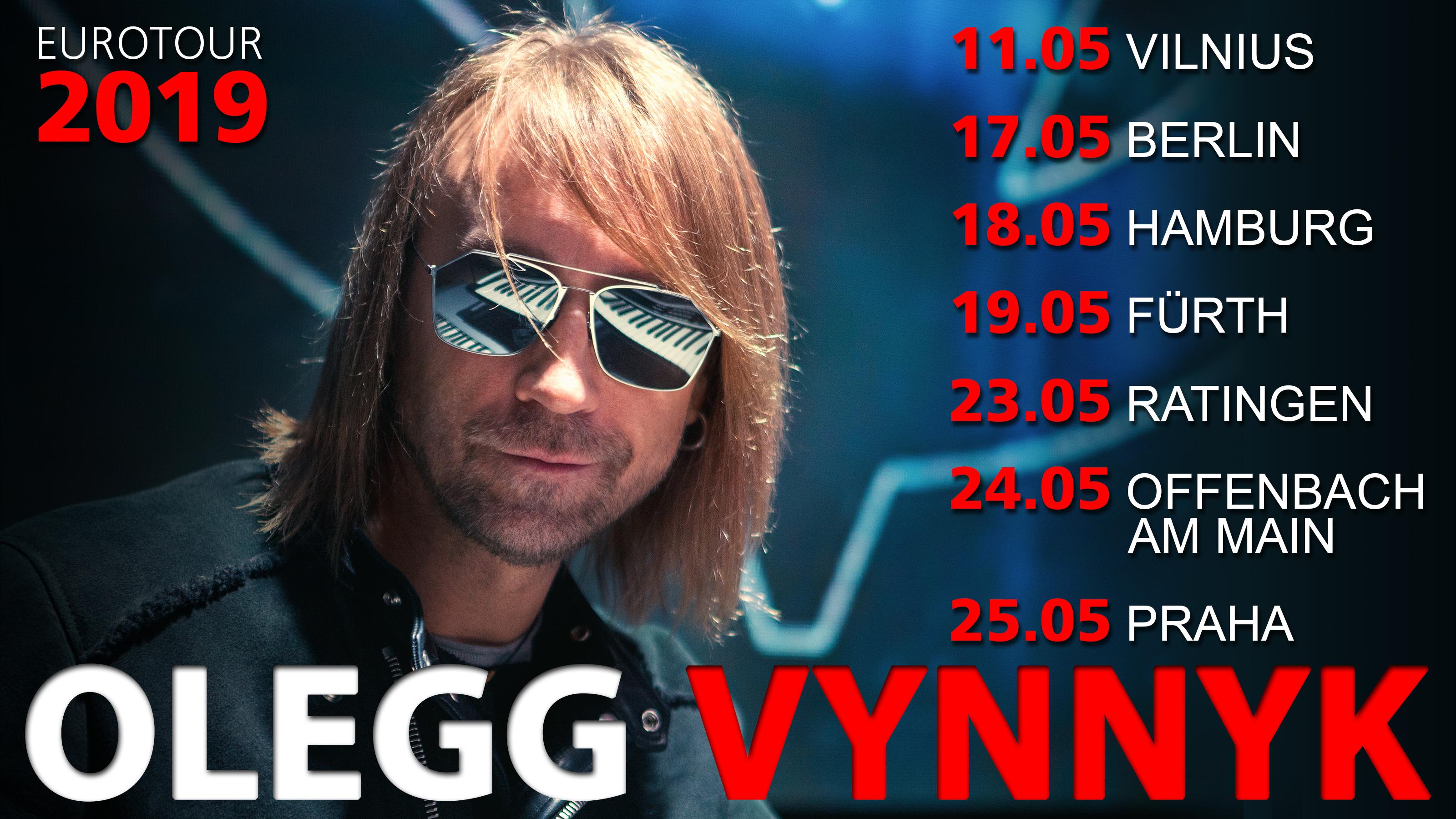 Олег Винник возвращается в Германию со своими хитами