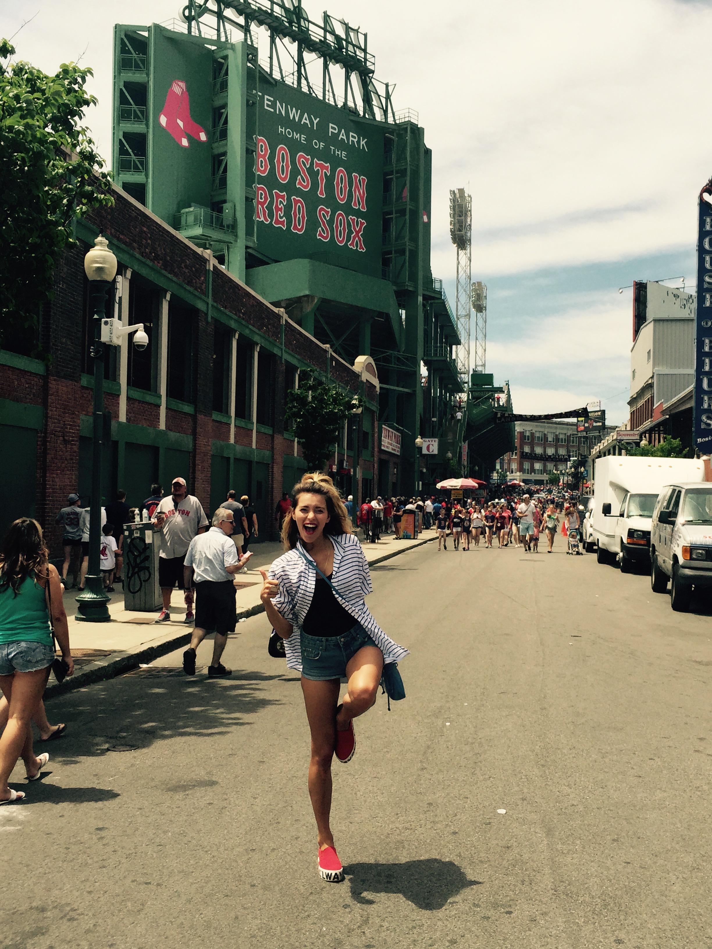 Регина Тодоренко в Бостоне