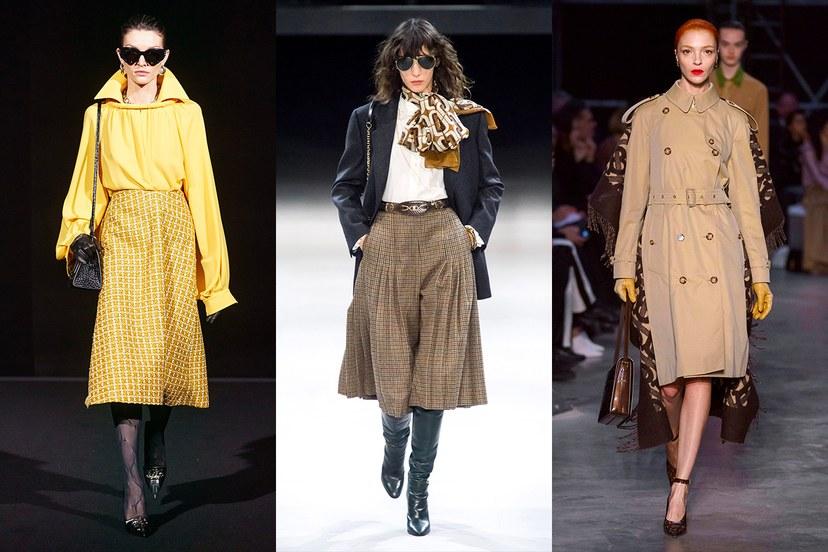 Роскошный буржуазный стиль будет к лицу смелым учительницам, которые обожают фантазировать на модные темы