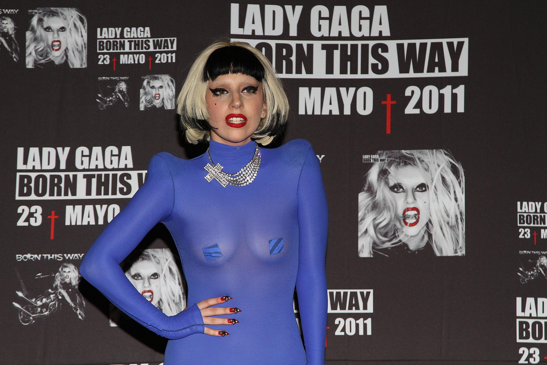 Певица Lady Gaga