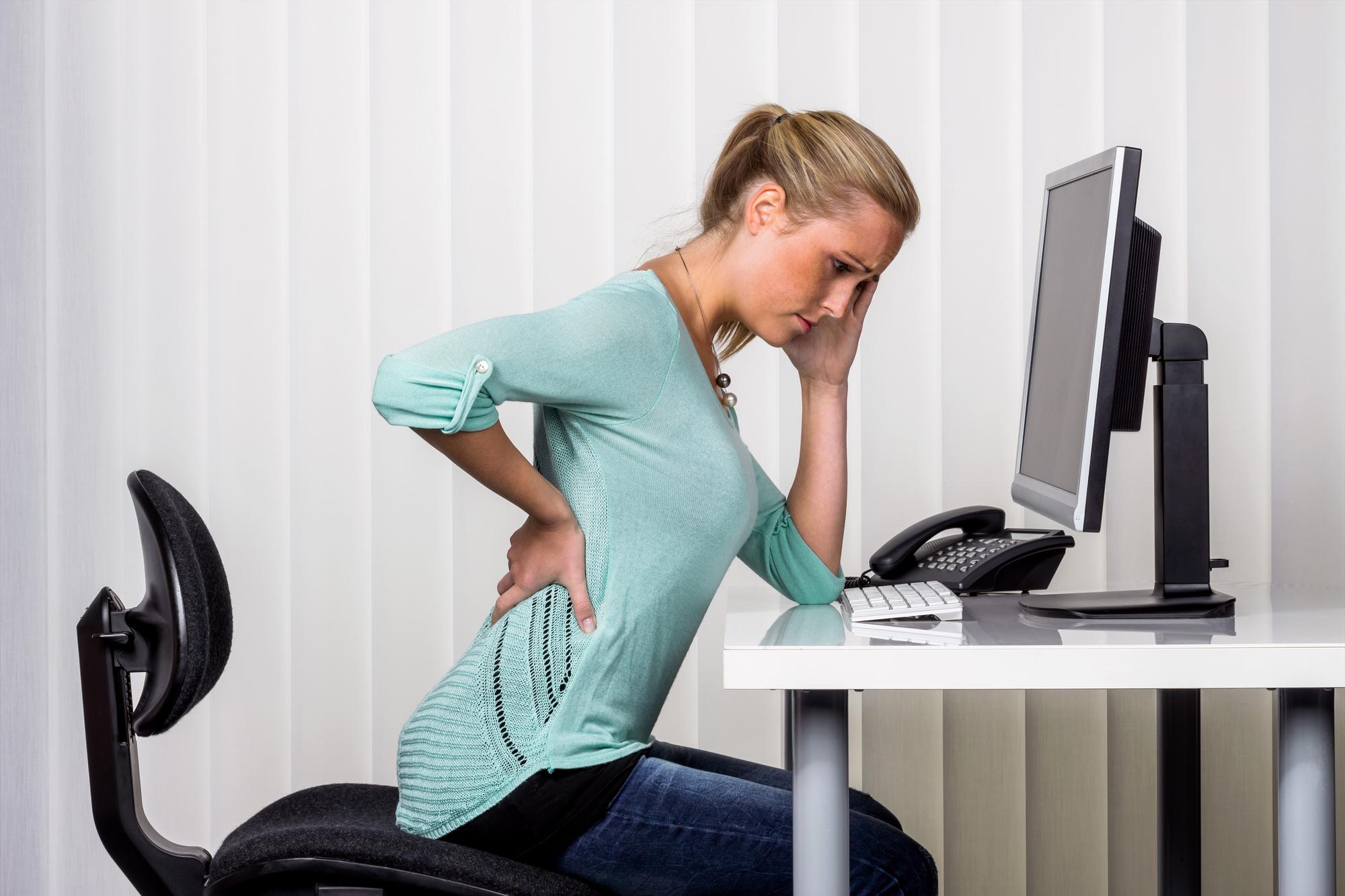 Проблемы со здоровьем, которые возникают из-за компьютера