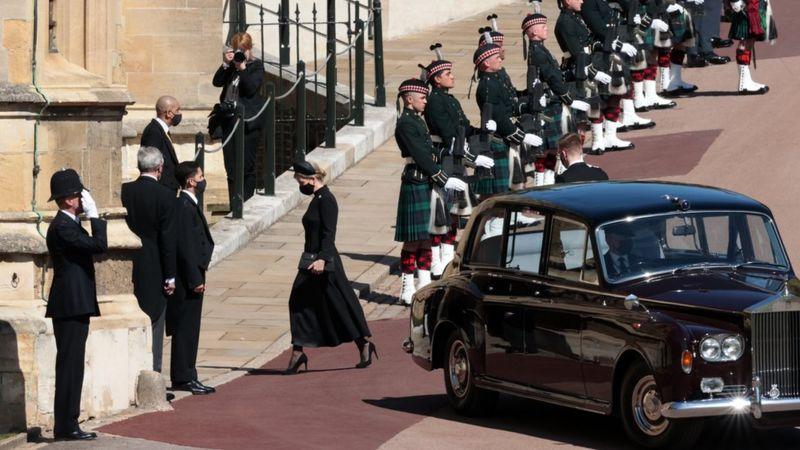 В Великобритании похоронили принца Филиппа
