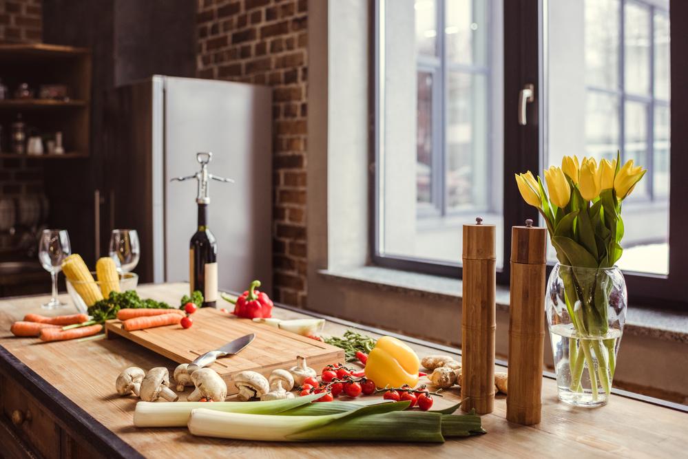 Кухня с небольшой площадью