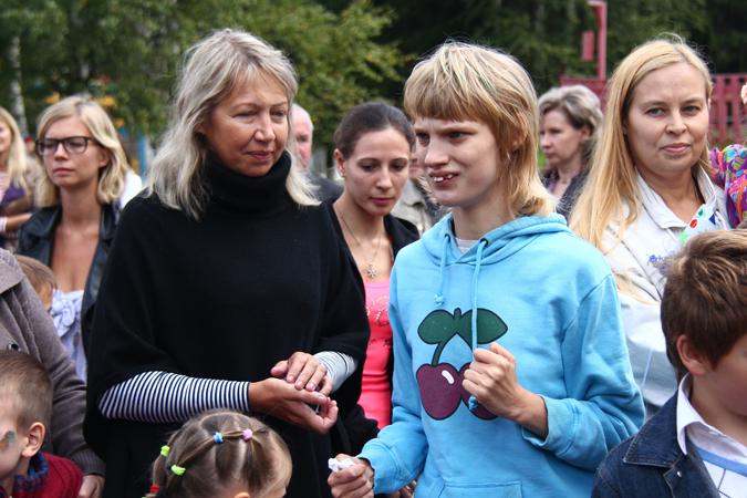 Оксана Водянова с мамой Ларисой Кусакиной