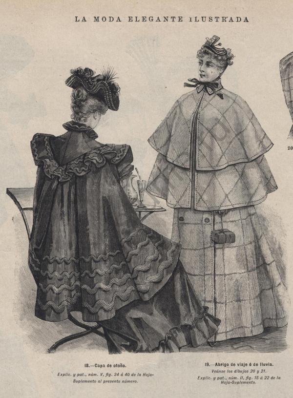 Пальто 19 век