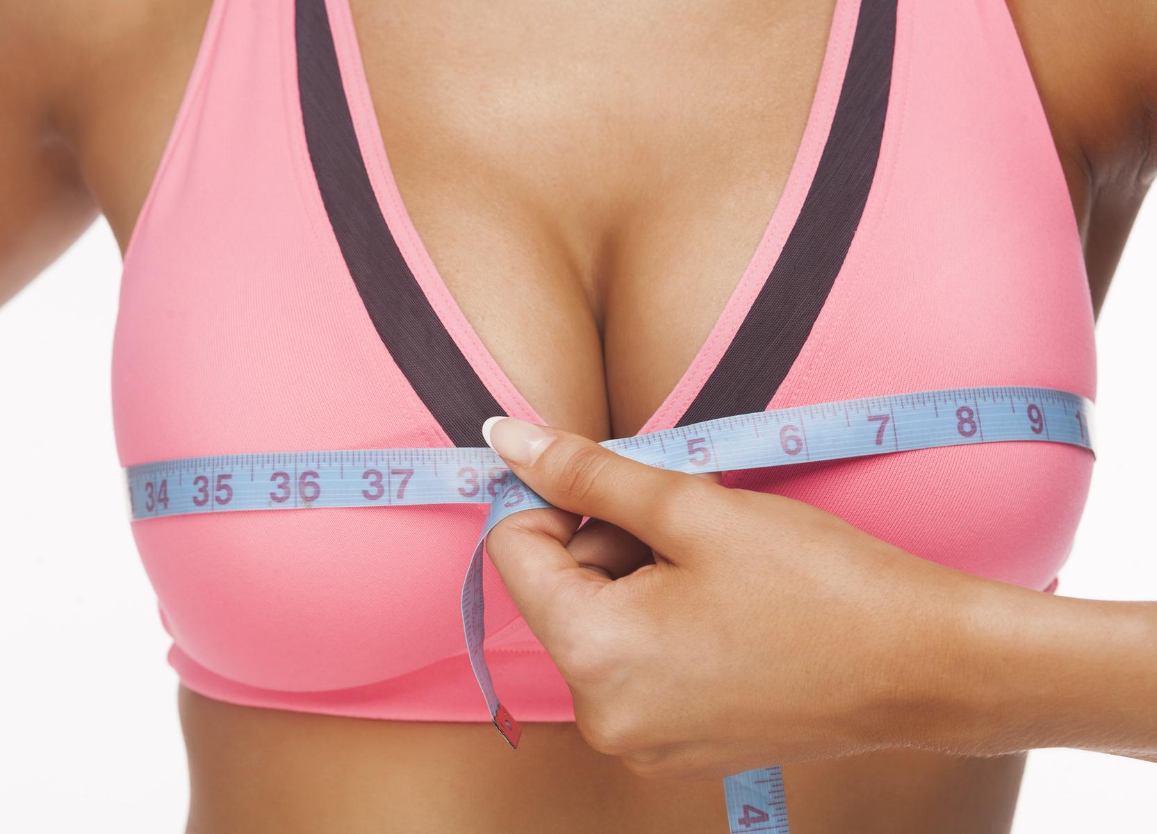 как увеличить грудь дома без кремов