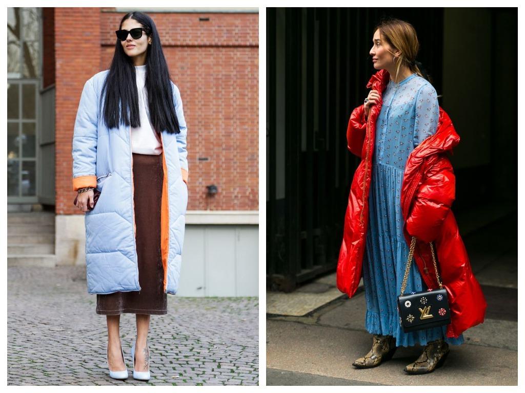 Пальто-одеяло должно быть максимально длинное и объемное