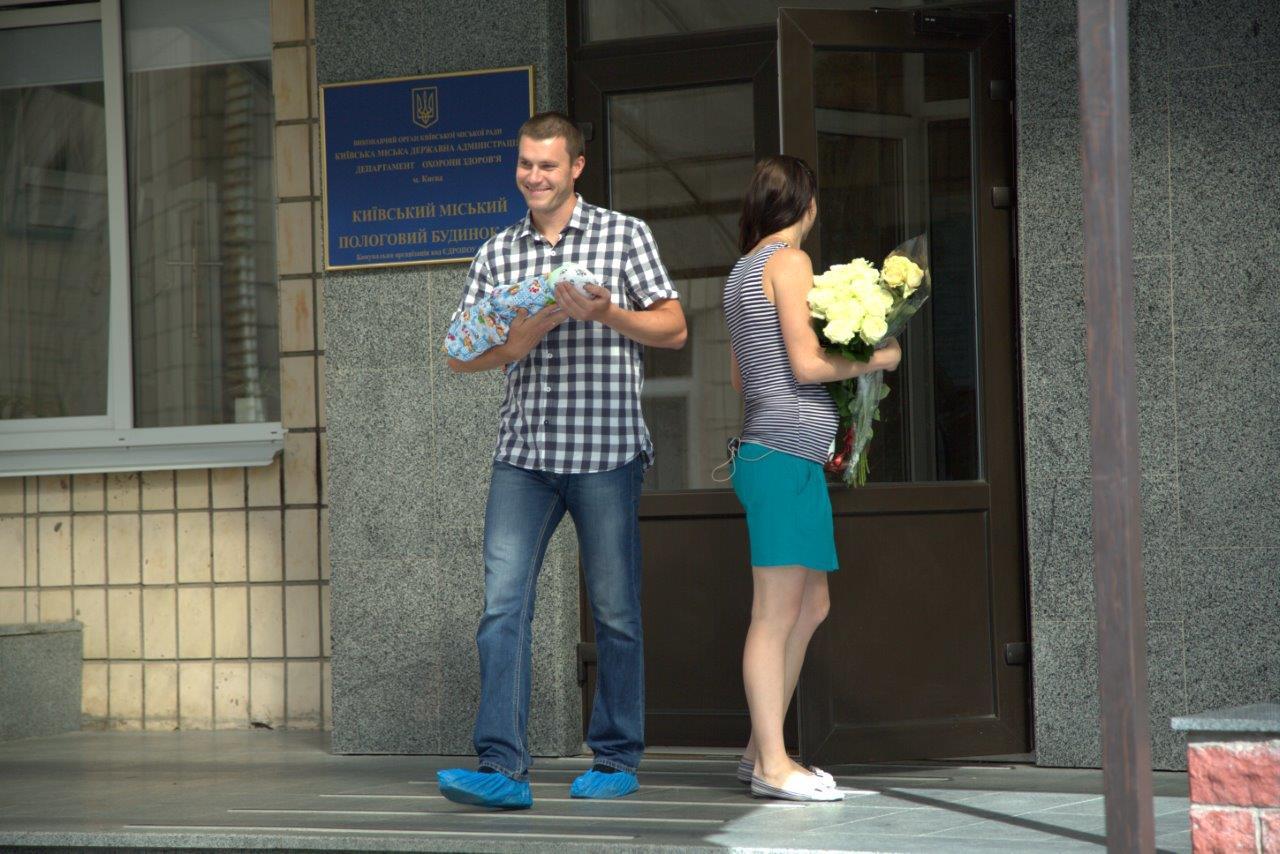 Наконец-то мечта пары осуществилась – Юлия родила мальчика
