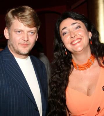 Лолита с бывшим мужем Александром Зарубиным