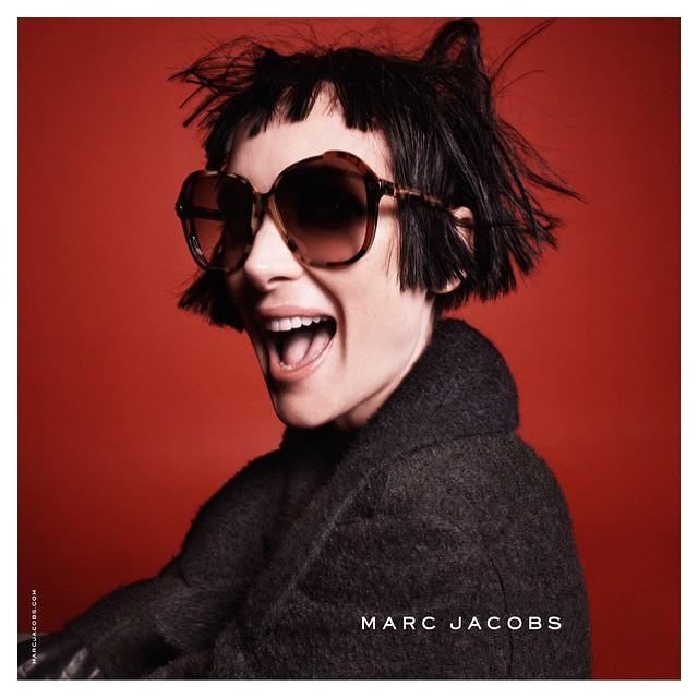 Актриса Вайнона Райдер в рекламной кампании Marc Jacobs
