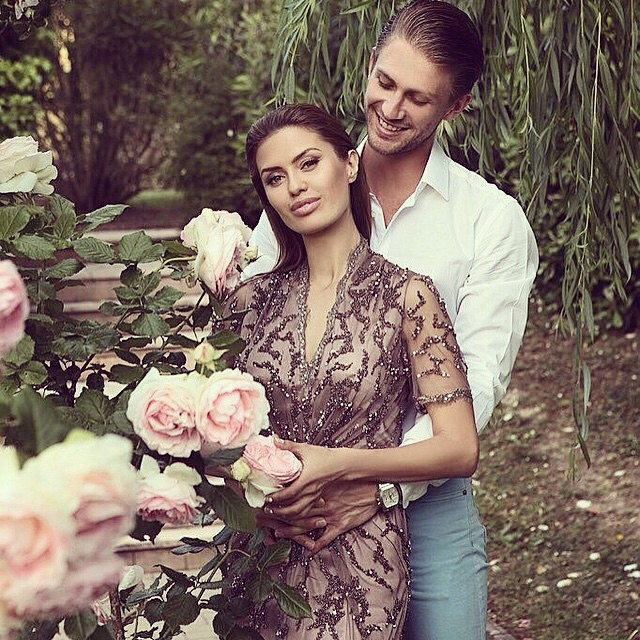 Виктория Боня с возлюбленным Александром Смерфитом