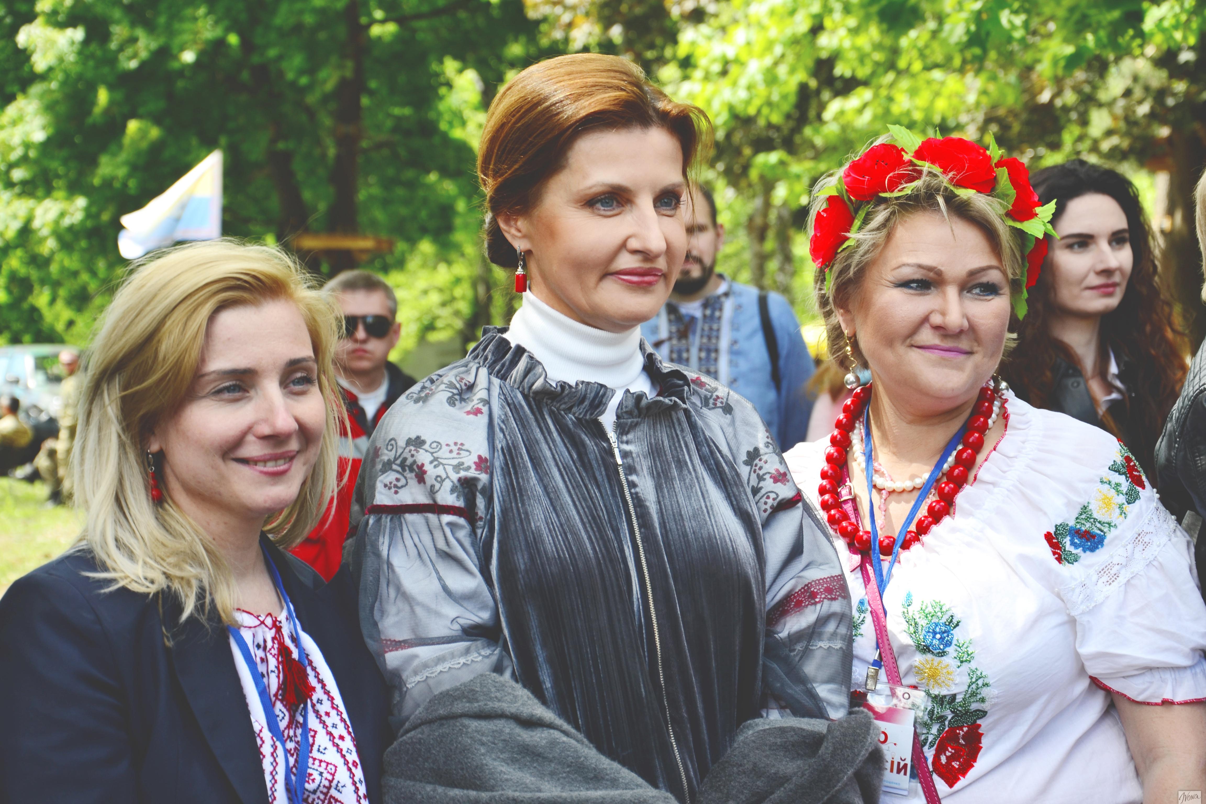 Марина Порошенко и организаторы проекта