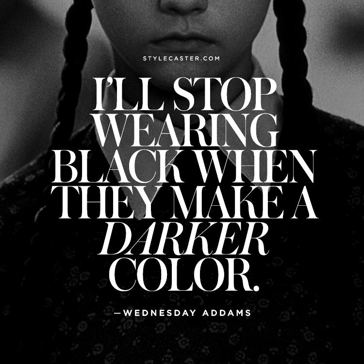 Статусы про чёрный цвет