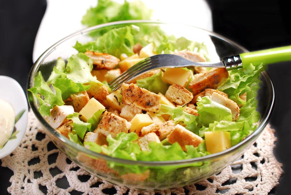 рецепты салатов с твердым сыром с фото