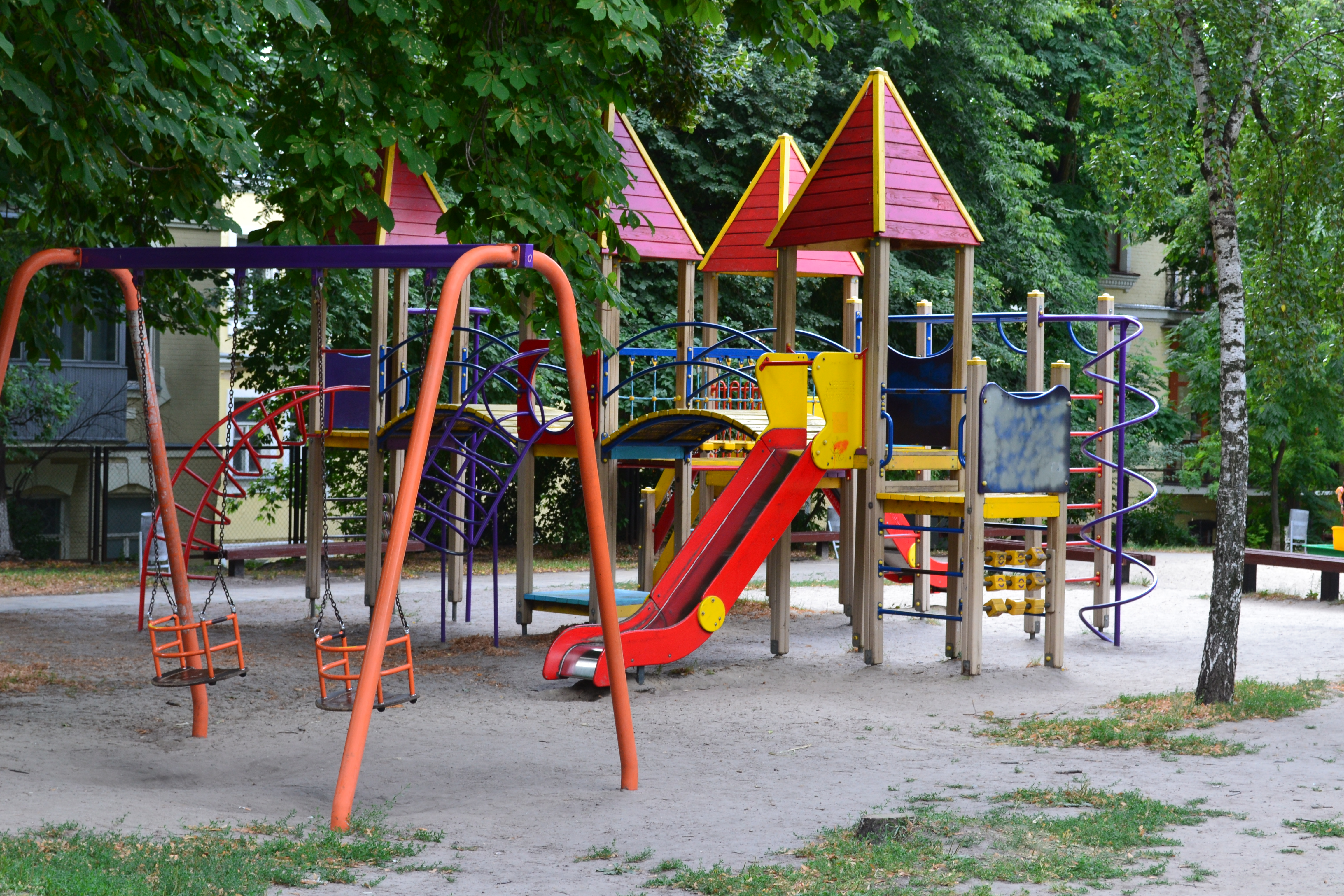 детские площадки киев, Площадка на Владимирской горке