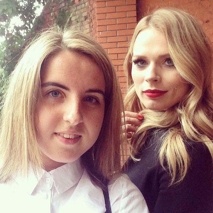 Лиза с Олей Фреймут