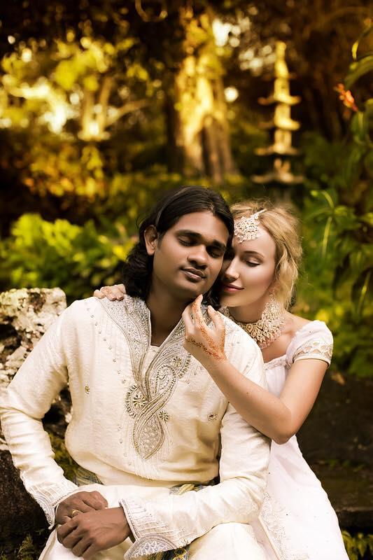 Ксения с супругом Сашей