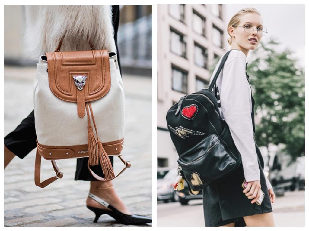 Рюкзак может быть и стильным, и модным - выбирайте небанальные цвета и фактуры
