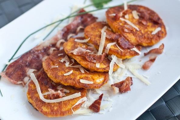Тыквенные оладьи с сыром: Как приготовить