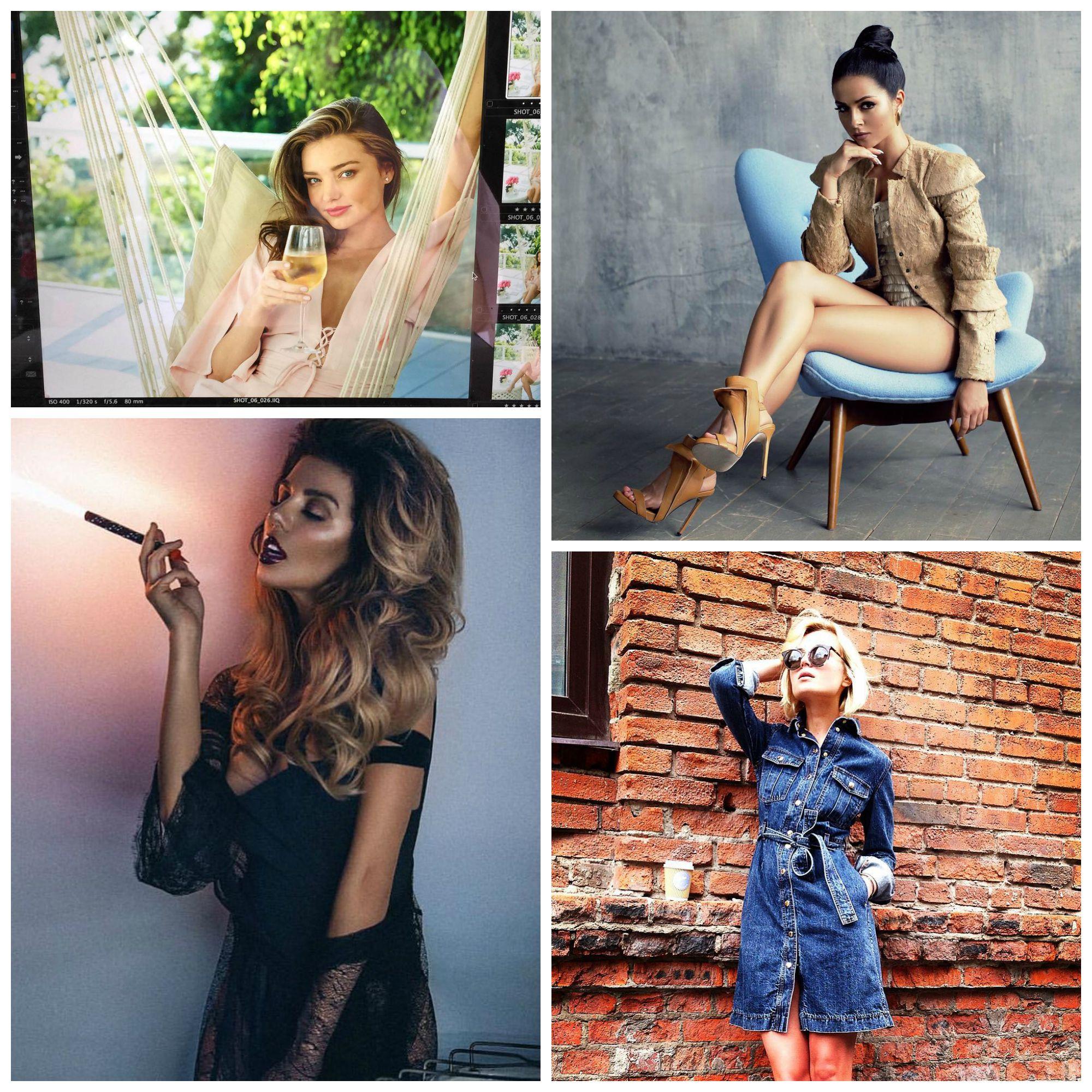 Самые стильные фото звезд в Instagram