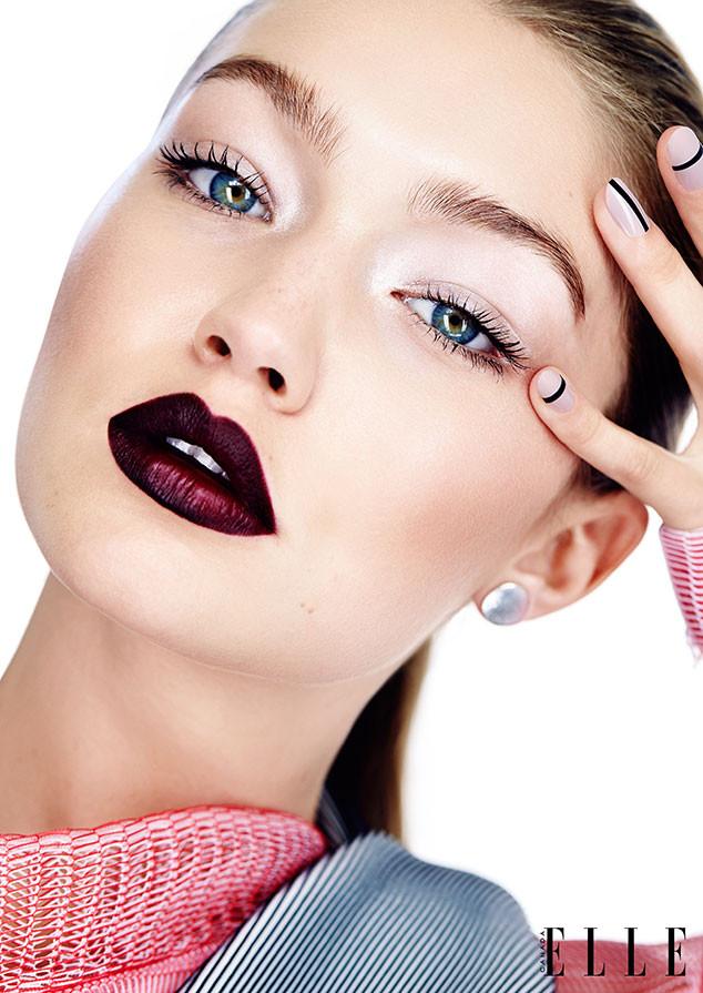 Модель Джиджи Хадид для канадского Elle