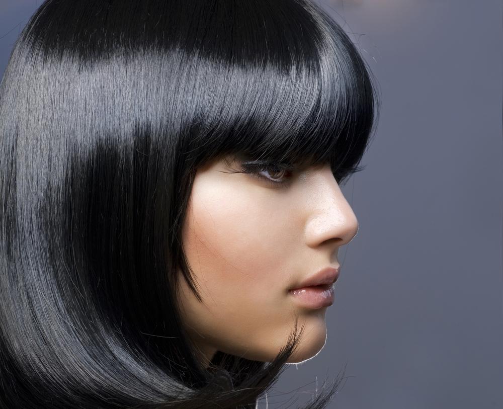Воронье крыло цвет волос фото