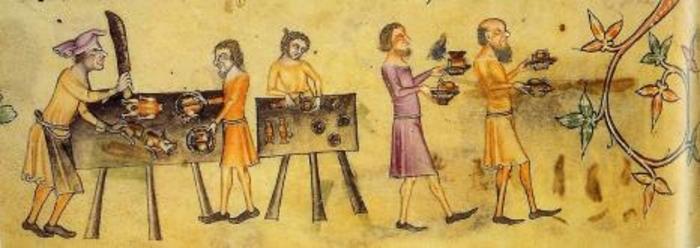 Злой Повар и официанты.1330 год