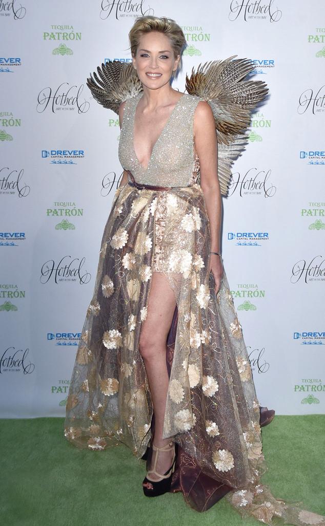 Актриса Шэрон Стоун выбрала для красной дорожки смелый наряд