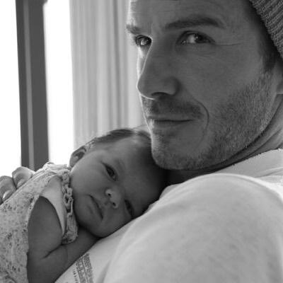 Дэвид Бекхэм трогательно поздравил дочь Харпер с днем рождения