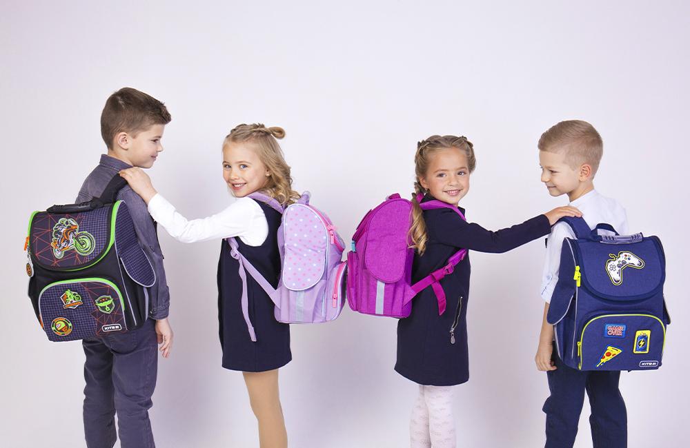 Как выбрать школьный рюкзак для первоклассника