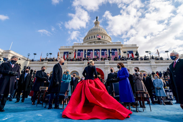 Леди Гага выступила на церемонии инаугурации президента США