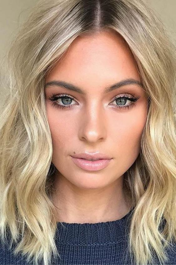 Правила для повседневного макияжа блондинкам