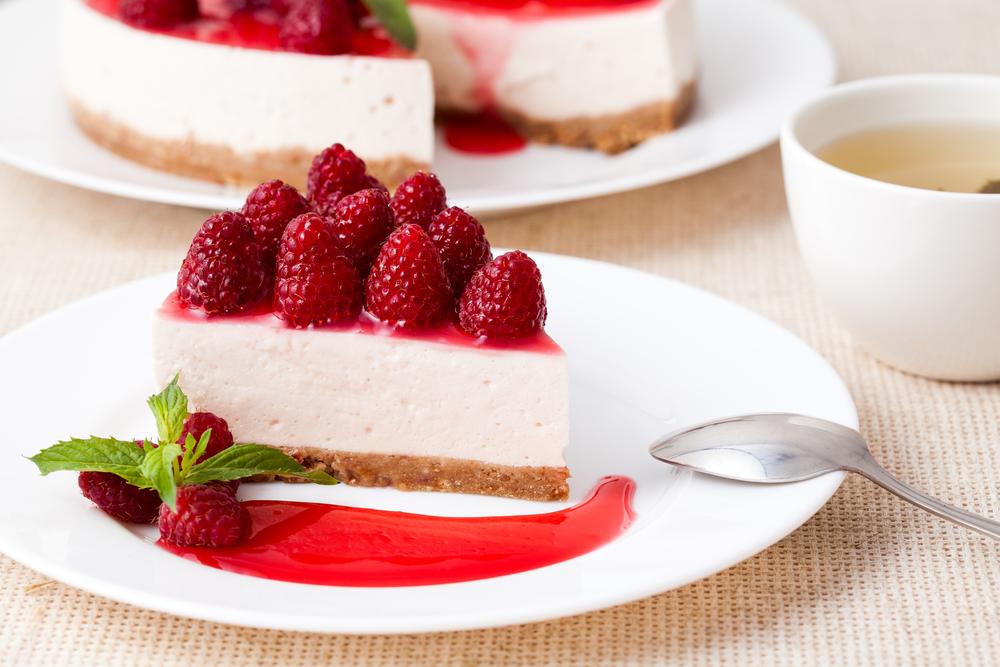 Десерт из творога и малыны
