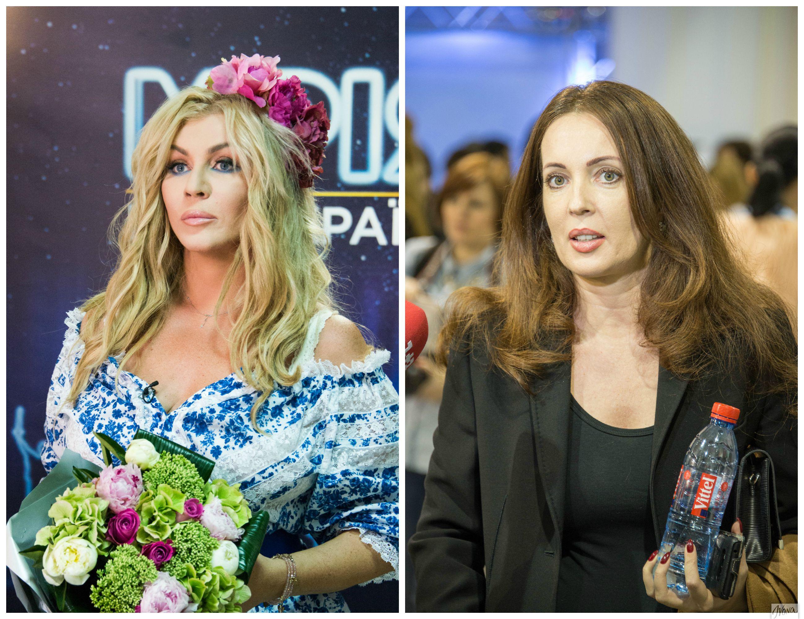 Ирина Билык и Наталья Юсупова (справа)