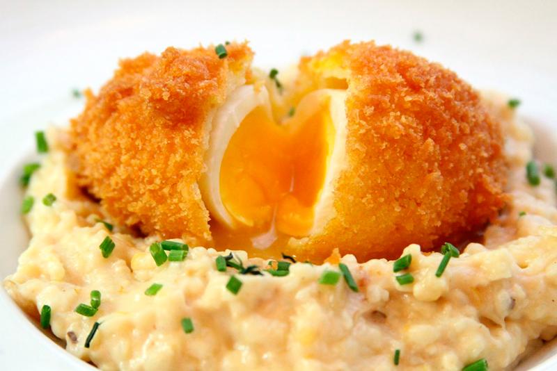 Image result for яйцо аля пашот в панировке