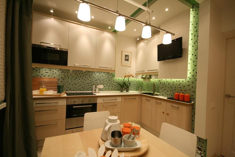 Кухня 9 кв. м в деталях: интерьер в 3d (фото) - дизайн интер.