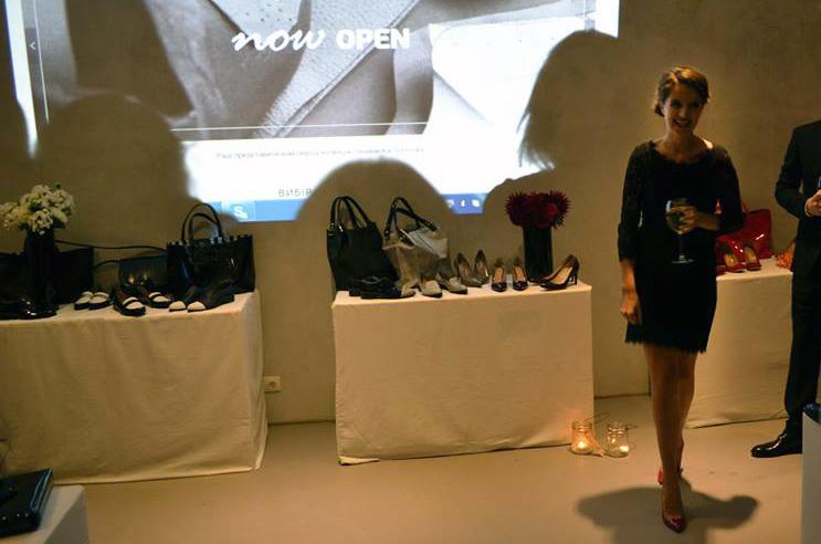 """Алина Очеретяна: """"Материалы мы пока используем заграничные, но вся обувь производится в Украине нашими мастерами."""""""