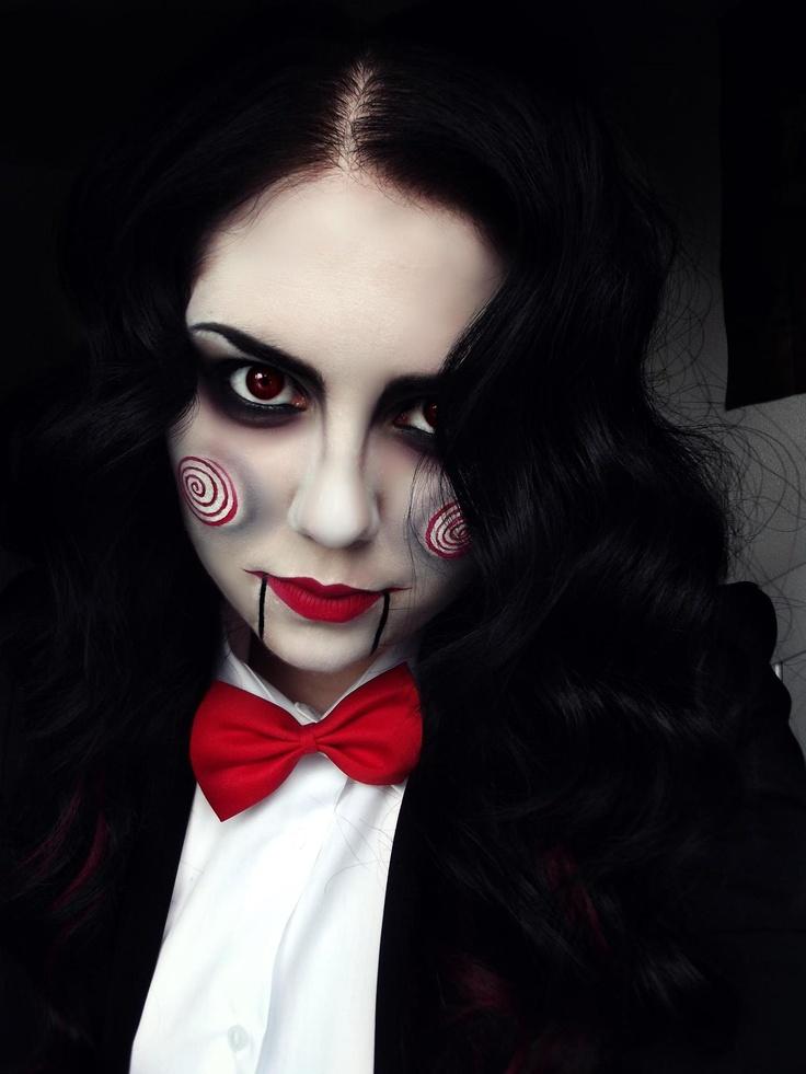Макияж под куклу Билли из фильма Пила пользуется спросом на Хэллоуин