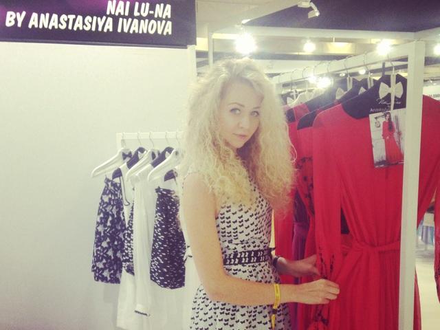 Дизайнер Анастасия Иванова во второй раз побывала на выставке Who's Next  в Париже