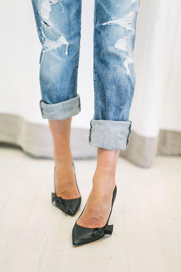 МОДНЫЙ ПАЦАН: Как подворачивать джинсы! - YouTube