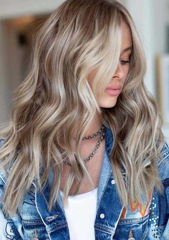 Кремовый оттенок блонда