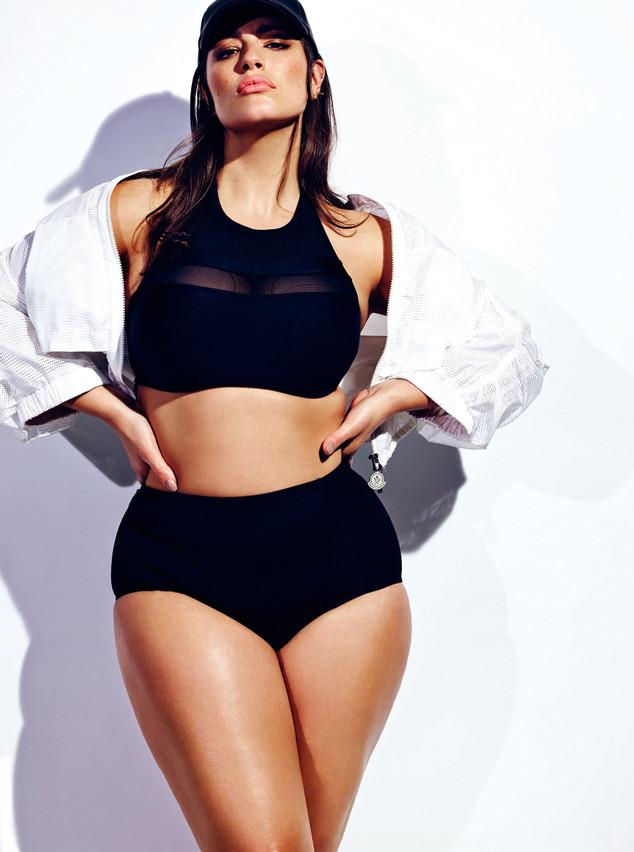 Пышнотелая модель Эшли Грэм учит женщин любить себя и свое тело