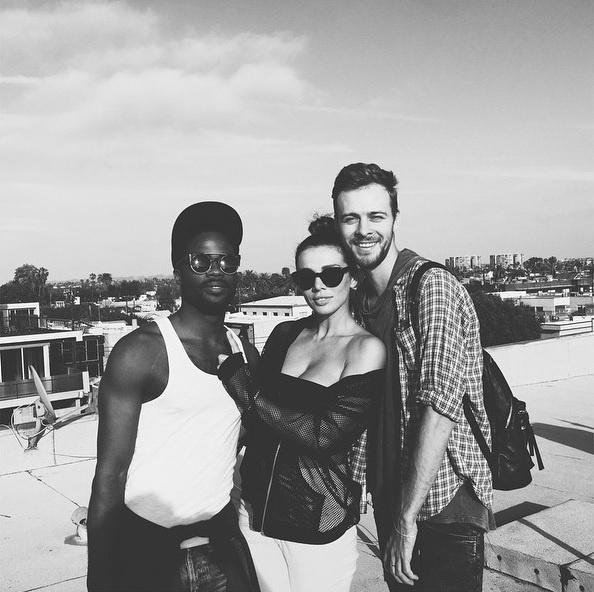Макс Барских и Анна Седокова стали соседями в Лос-Анджелесе