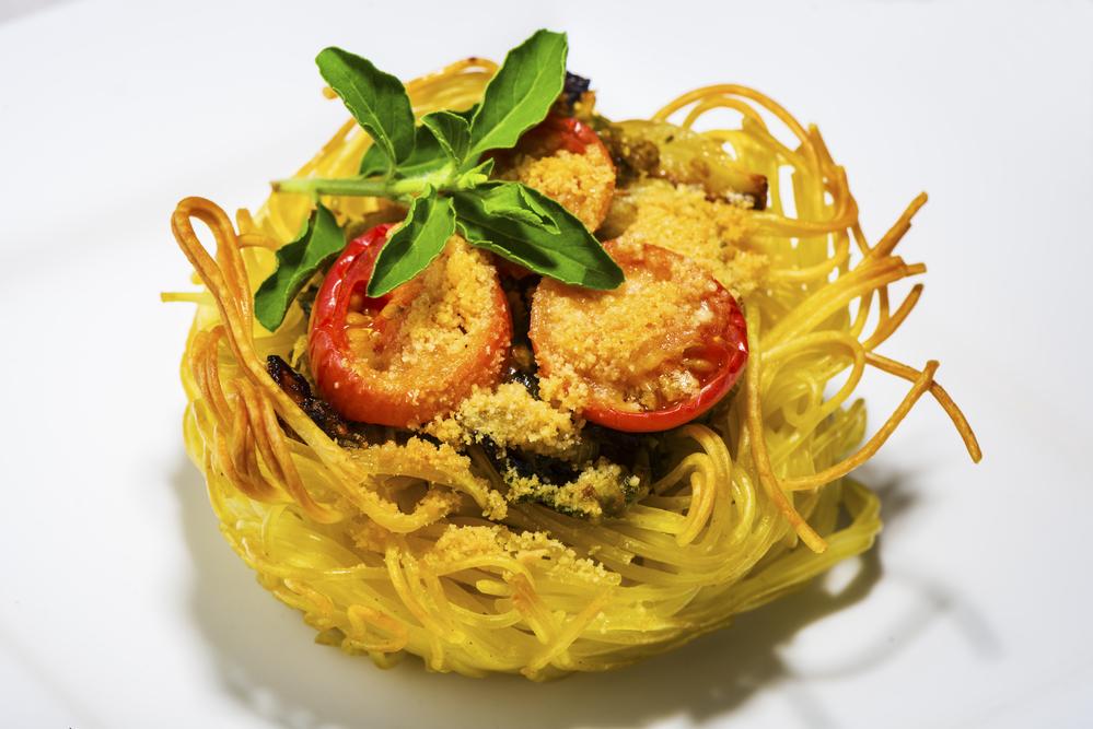 Маффины из спагетти: Рецепт
