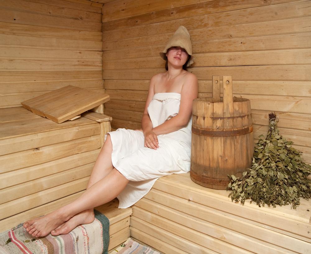 русские женщины в бане фото