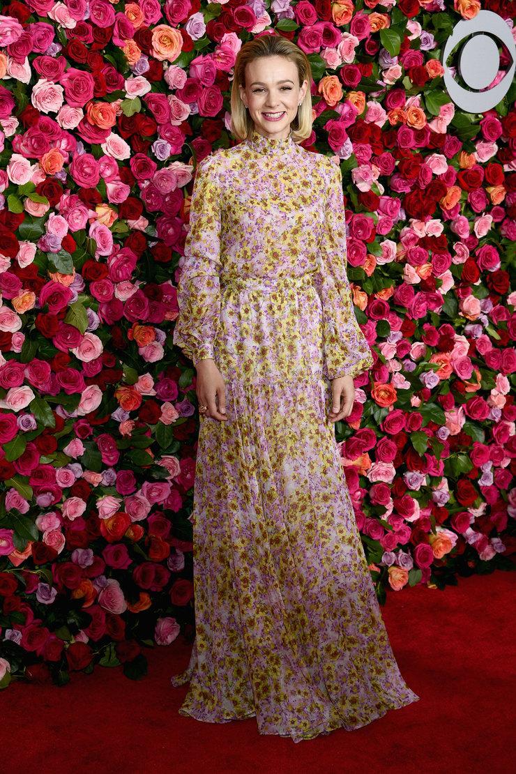 Виинтаж - любимый тренд британской актрисы Кэри Маллиган