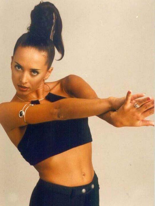 Жанна Фриске в 1996 году