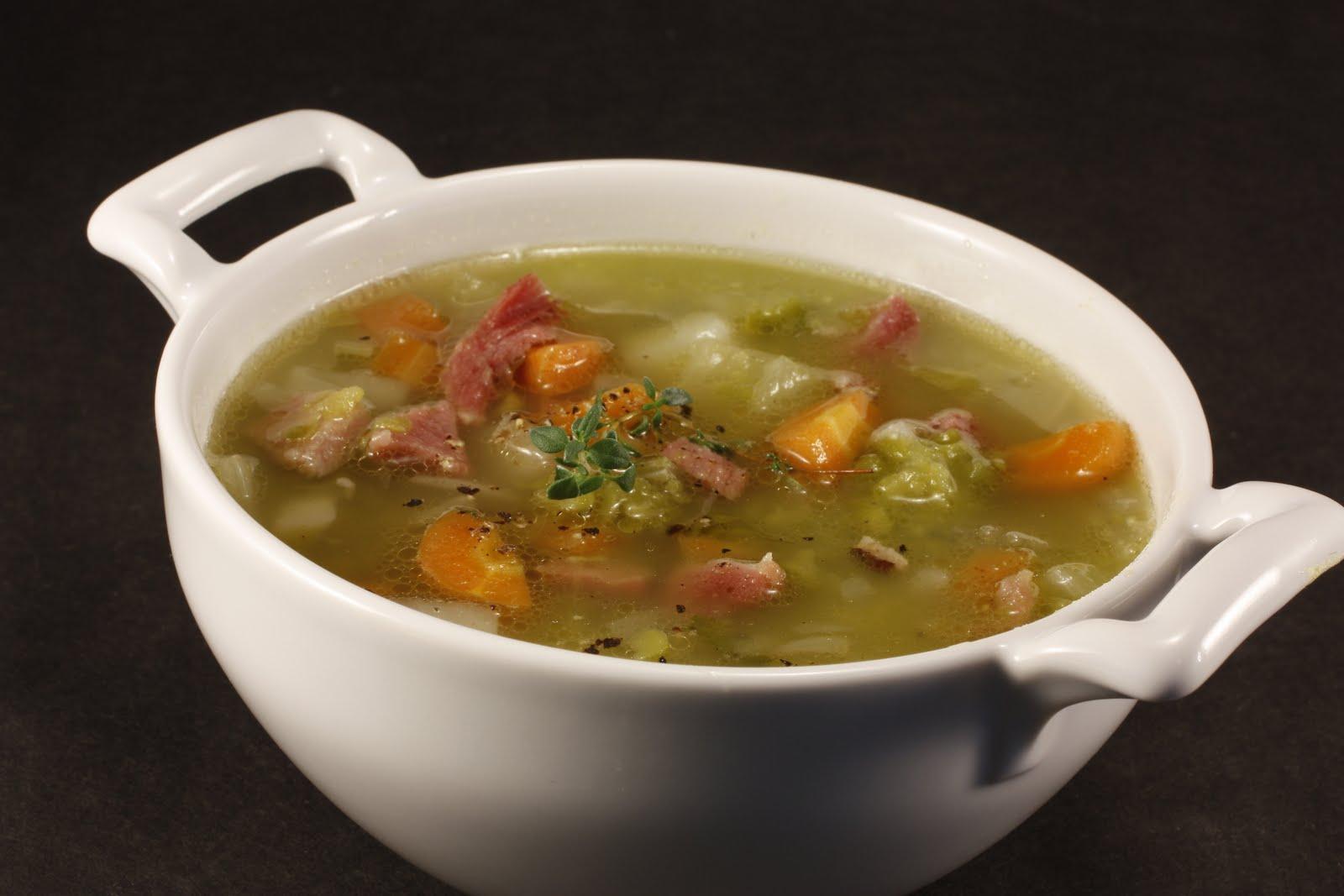 рецепт горохового супа с индейкой с фото